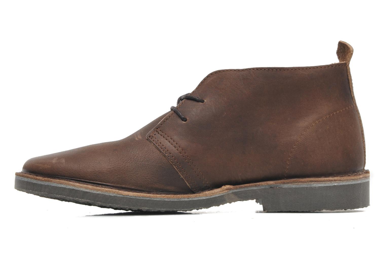 JJ Gobi Heavy Leather Desert Boot Prm Brown stone
