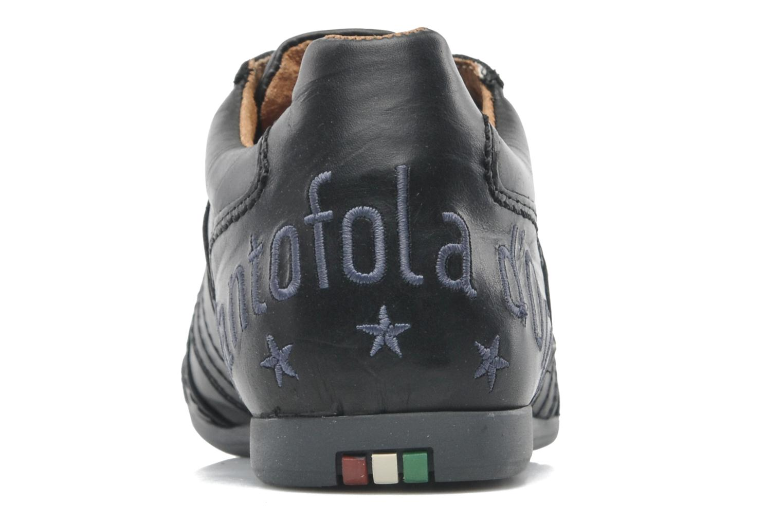 Baskets Pantofola d'Oro Ascoli Piceno Low Uni Men Noir vue droite