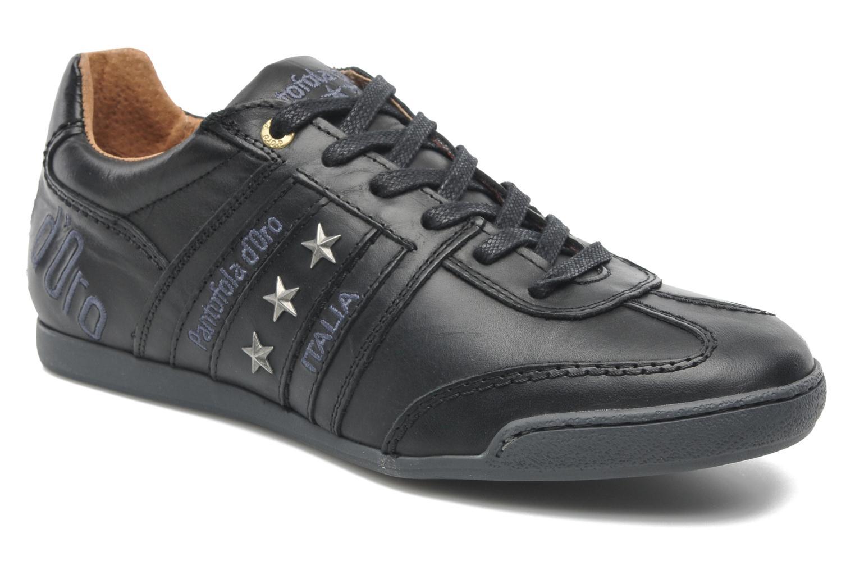 Baskets Pantofola d'Oro Ascoli Piceno Low Uni Men Noir vue détail/paire