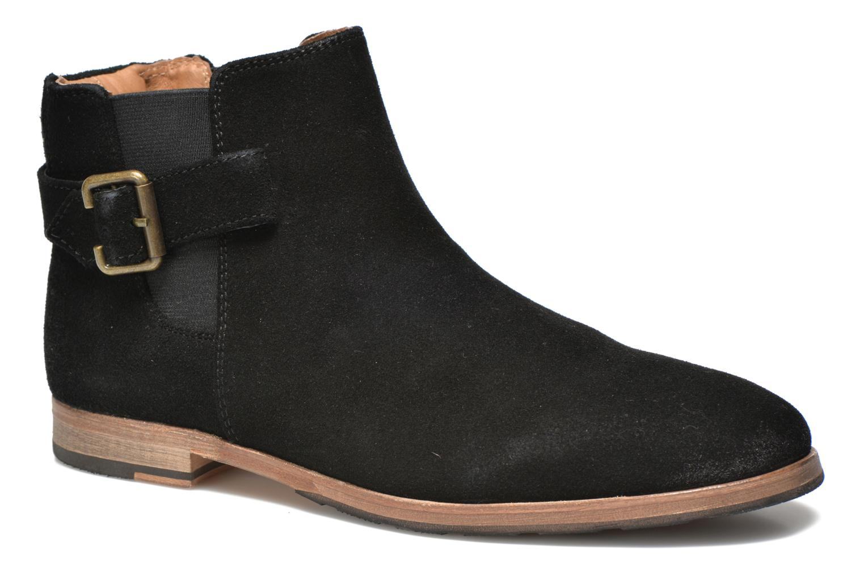 Boots en enkellaarsjes Schmoove Drive boots Zwart detail