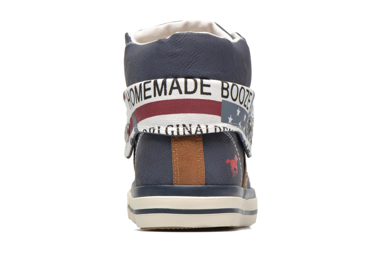 Baskets Mustang shoes Mathys Bleu vue droite