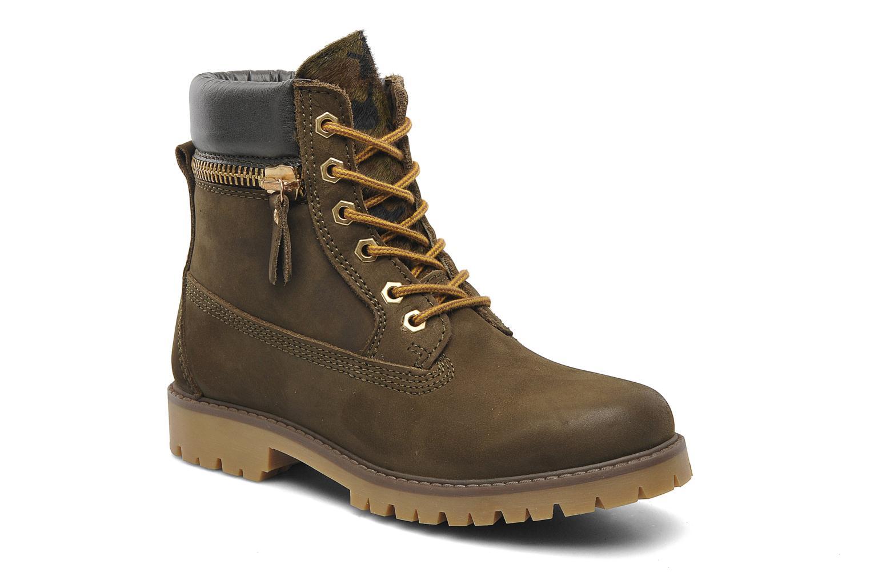 Boots en enkellaarsjes Bronx Yumi Groen detail