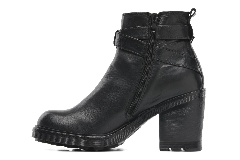 Boots en enkellaarsjes Bronx Heba Zwart voorkant
