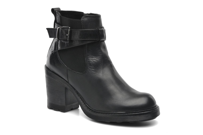 Boots en enkellaarsjes Bronx Heba Zwart detail