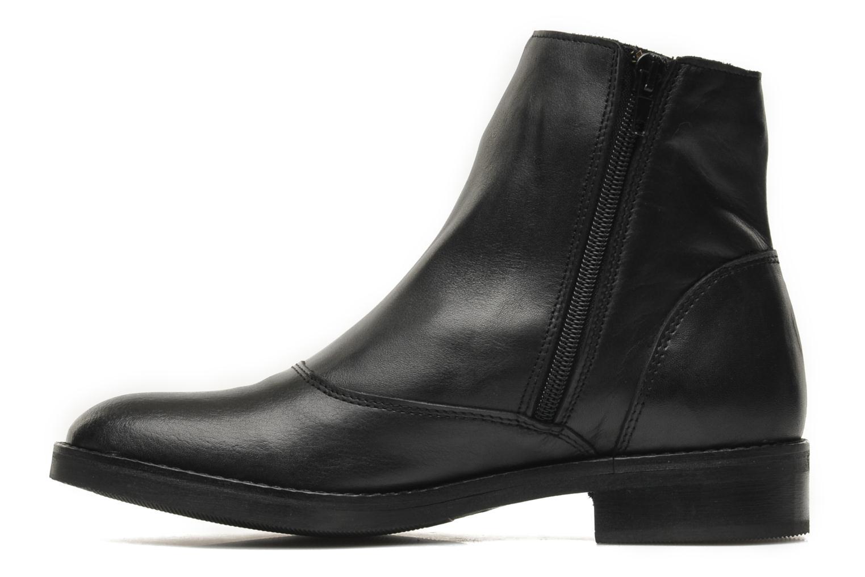 Boots en enkellaarsjes Bronx Mateo Zwart voorkant