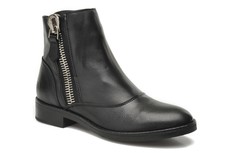 Boots en enkellaarsjes Bronx Mateo Zwart detail