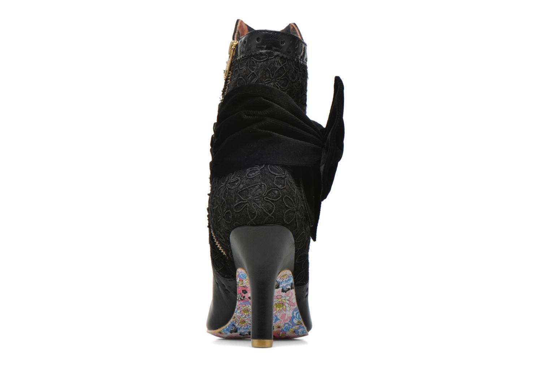 Bottines et boots Irregular Choice Rosie Lea Noir vue droite