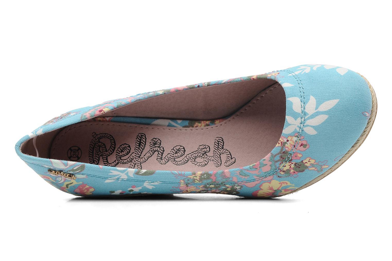 Pumps Refresh Rebeka blau ansicht von links