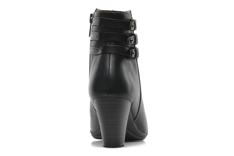 Bottines et boots Pikolinos VERONA 829-7247 Noir vue droite