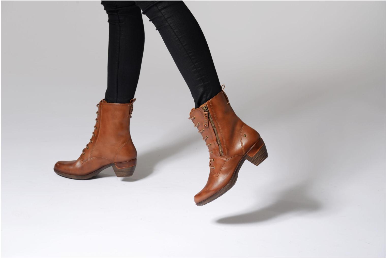 Stiefeletten & Boots Pikolinos ROTTERDAM 902-7936 schwarz ansicht von unten / tasche getragen