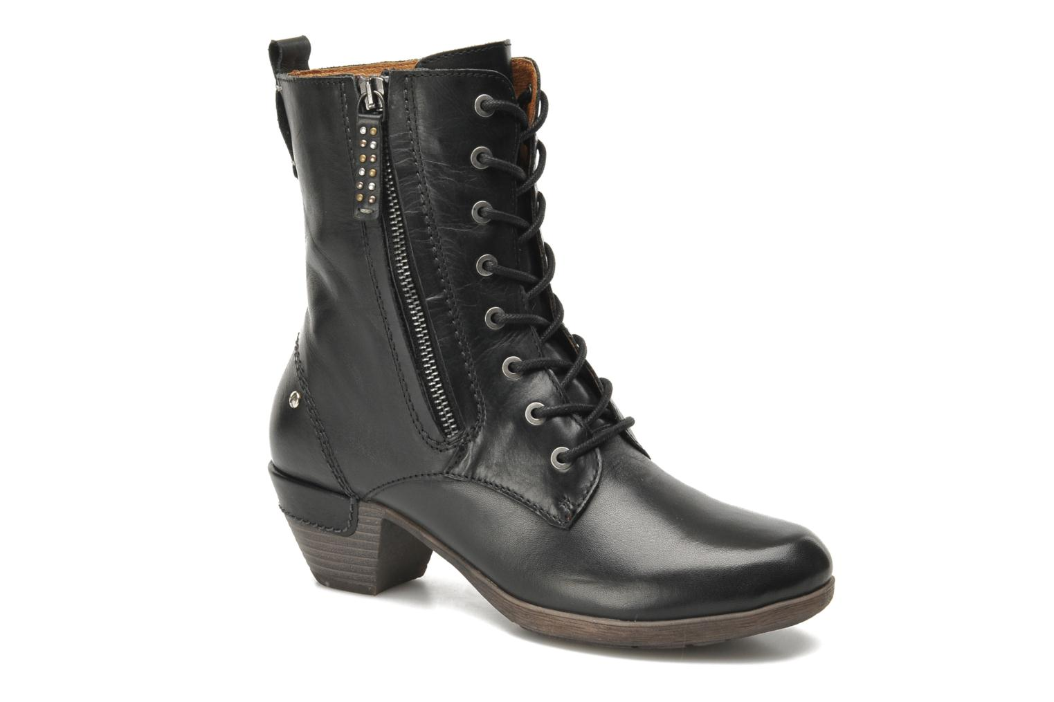 Ankle boots Pikolinos ROTTERDAM 902-7936 Black detailed view/ Pair view