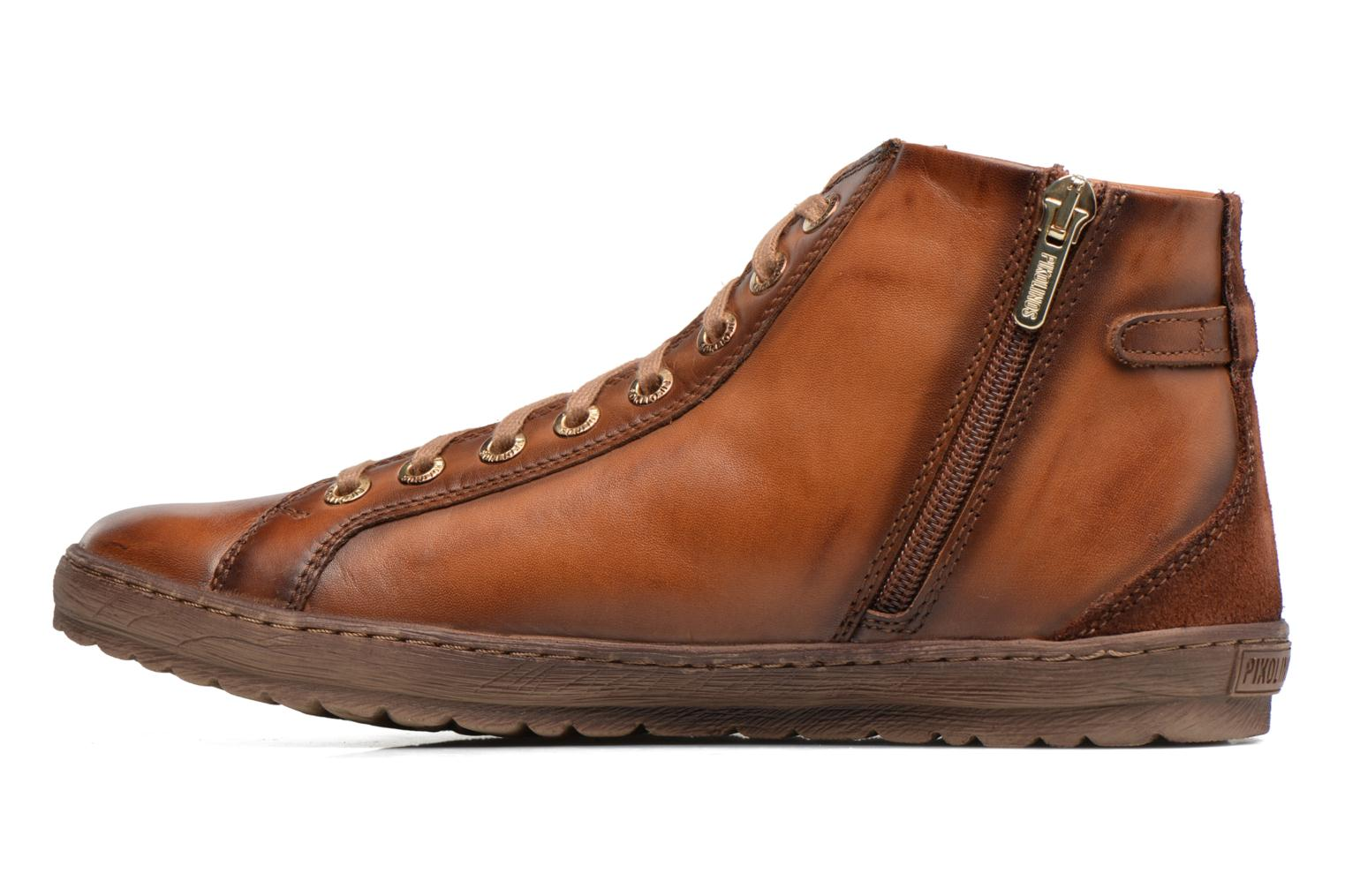 Trainers Pikolinos Lagos 901-7312 Brown front view