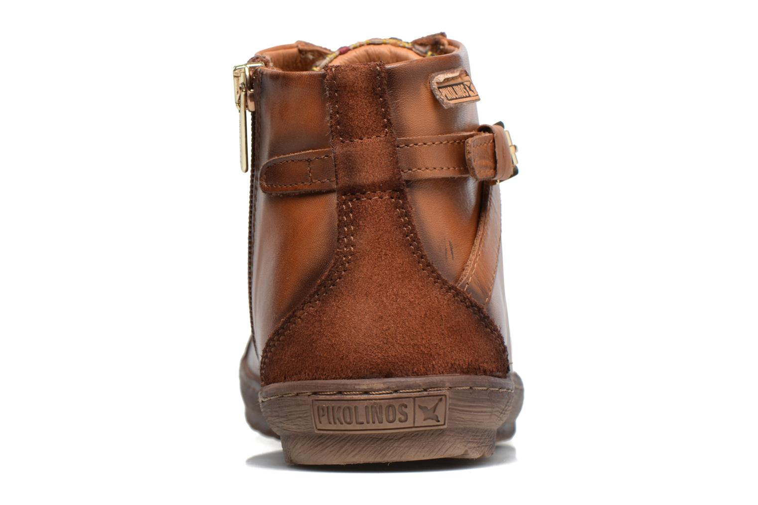 Trainers Pikolinos Lagos 901-7312 Brown view from the right
