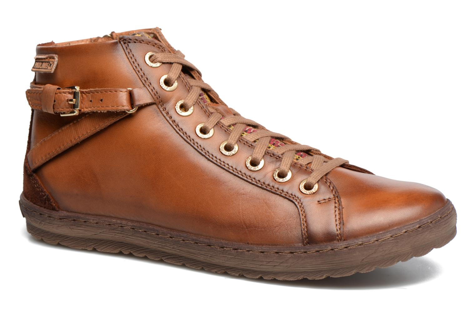 Trainers Pikolinos Lagos 901-7312 Brown detailed view/ Pair view