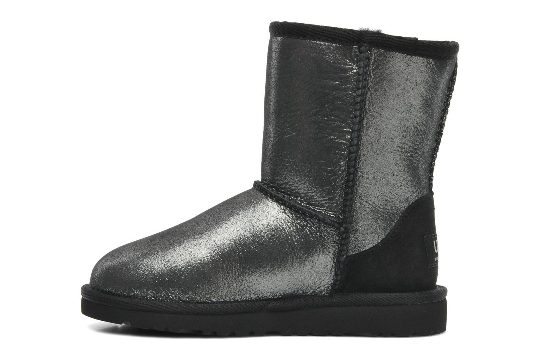 Stiefeletten & Boots UGG Classic Glitter K silber ansicht von vorne