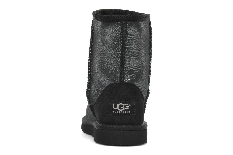Bottines et boots UGG Classic Glitter K Argent vue droite