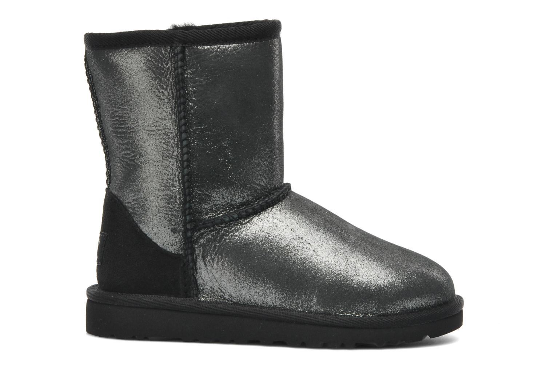 Stiefeletten & Boots UGG Classic Glitter K silber ansicht von hinten