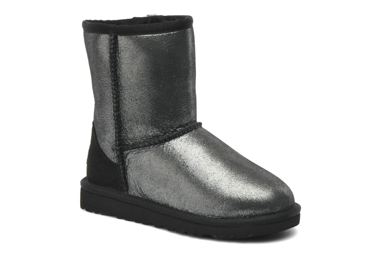 Bottines et boots UGG Classic Glitter K Argent vue détail/paire