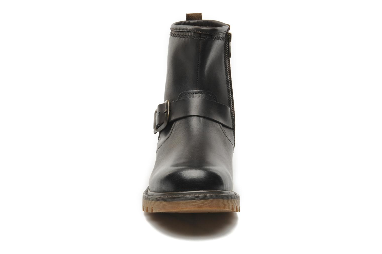 Bottines et boots Caterpillar UTILITY BIKER Marron vue portées chaussures
