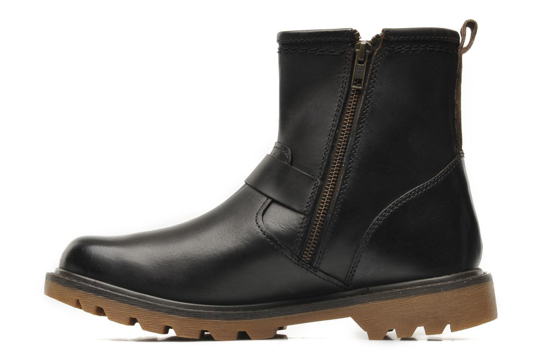 Bottines et boots Caterpillar UTILITY BIKER Marron vue face