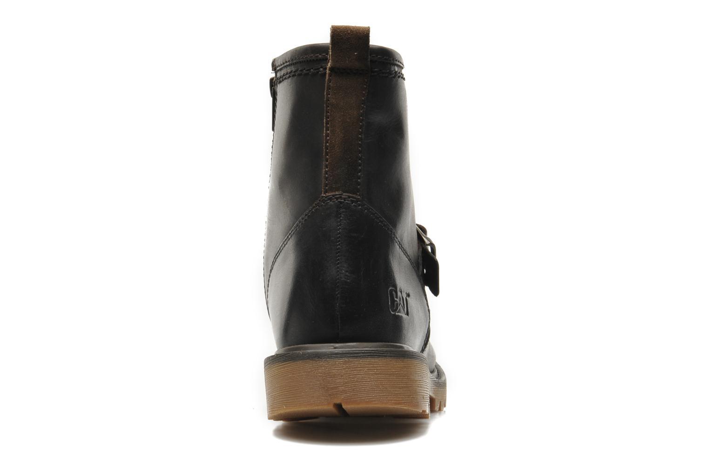 Bottines et boots Caterpillar UTILITY BIKER Marron vue droite