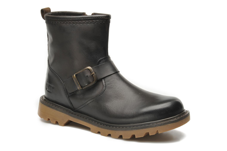 Bottines et boots Caterpillar UTILITY BIKER Marron vue détail/paire