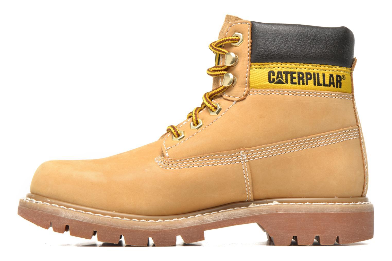 Boots en enkellaarsjes Caterpillar COLORADO W Beige voorkant