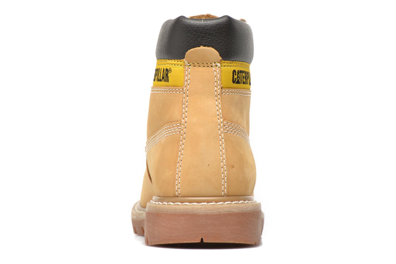Boots en enkellaarsjes Caterpillar COLORADO W Beige rechts