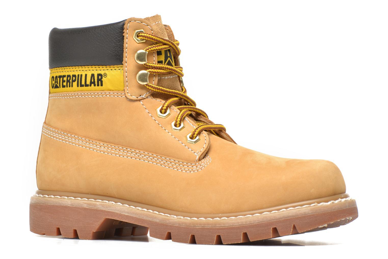 Boots en enkellaarsjes Caterpillar COLORADO W Beige achterkant