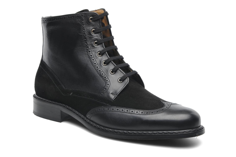 Boots en enkellaarsjes Marvin&Co Perossa Zwart detail