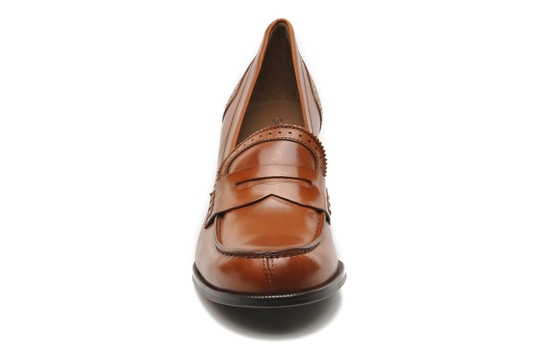 Mocassins Georgia Rose Perko Marron vue portées chaussures