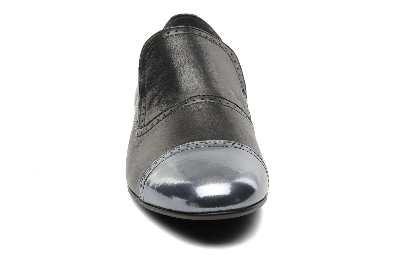 Mocassins Georgia Rose Perra Noir vue portées chaussures