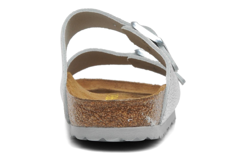 Arizona Cuir W Pebbles Metallic Silver