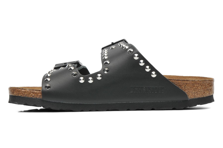 Clogs & Pantoletten Birkenstock Arizona Cuir W schwarz ansicht von vorne