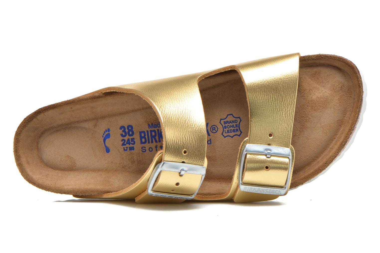 Clogs & Pantoletten Birkenstock Arizona Cuir W gold/bronze ansicht von links