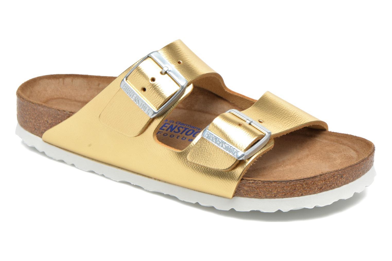 Clogs & Pantoletten Birkenstock Arizona Cuir W gold/bronze detaillierte ansicht/modell