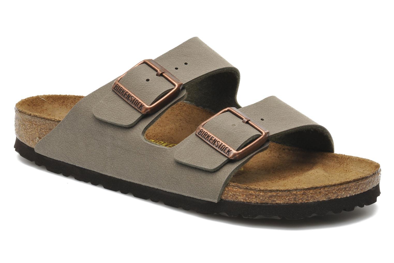 Nuevos zapatos para hombres y mujeres, descuento por tiempo limitado Birkenstock Arizona Flor W (Verde) - Zuecos en Más cómodo