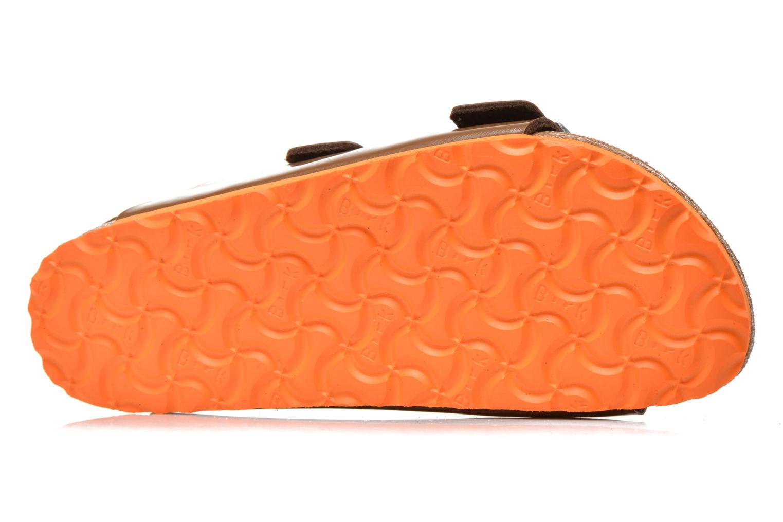 Arizona Flor W Vernis Bison Brown / LS orange