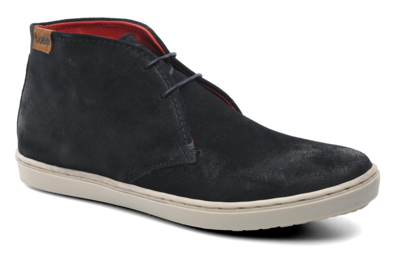 Sneakers Base London Marauder Blauw detail
