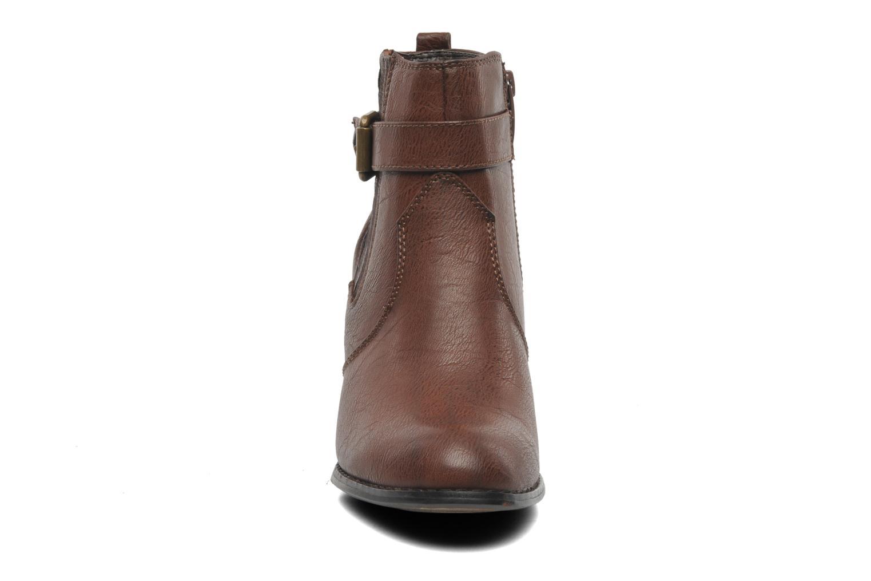Bottines et boots I Love Shoes Suhiny Marron vue portées chaussures