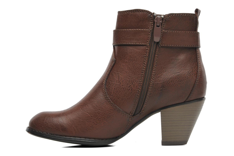 Bottines et boots I Love Shoes Suhiny Marron vue face