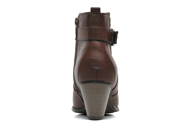 Bottines et boots I Love Shoes Suhiny Marron vue droite