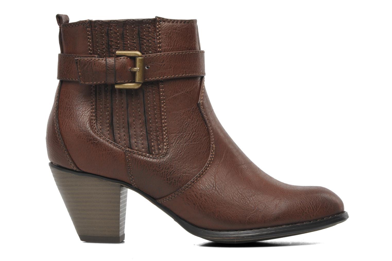 Stiefeletten & Boots I Love Shoes Suhiny braun ansicht von hinten