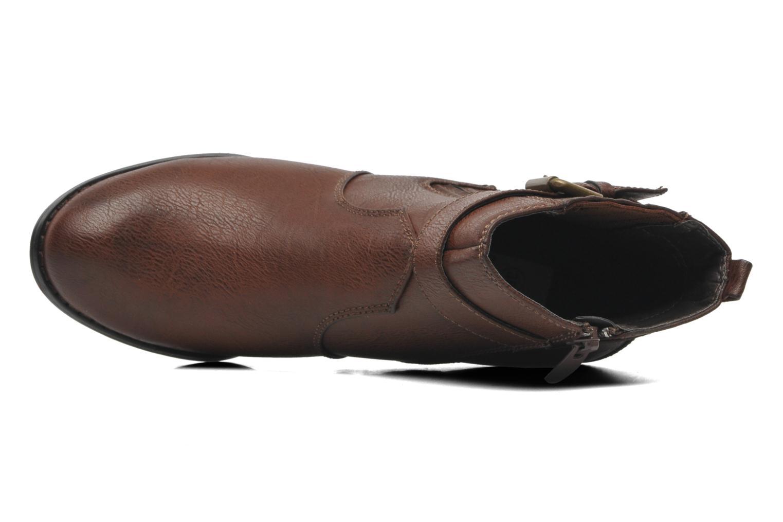 Stiefeletten & Boots I Love Shoes Suhiny braun ansicht von links