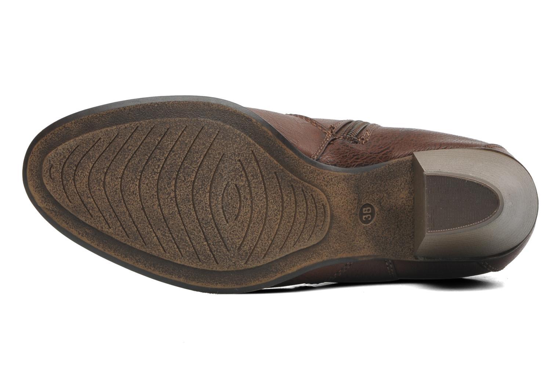 Bottines et boots I Love Shoes Suhiny Marron vue haut