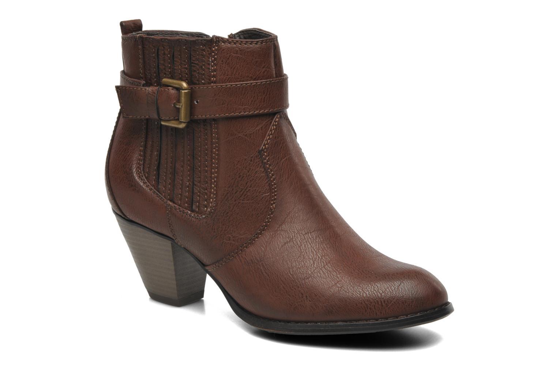 Bottines et boots I Love Shoes Suhiny Marron vue détail/paire