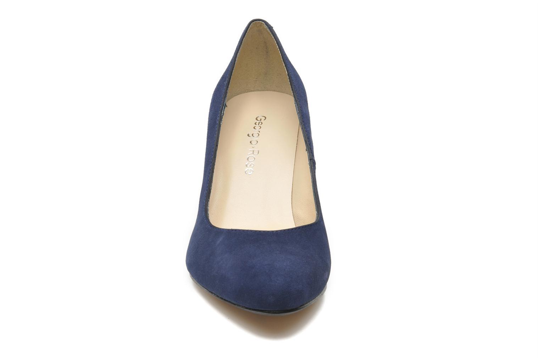 Escarpins Georgia Rose Sanbapa Bleu vue portées chaussures