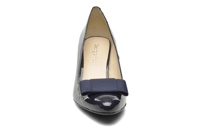 Escarpins Georgia Rose Santoora Bleu vue portées chaussures