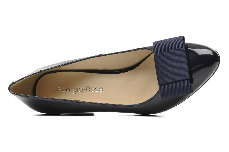 High heels Georgia Rose Santoora Blue view from the left