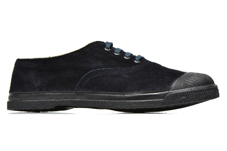 Sneaker Bensimon Tennis Lacets Suedpiping blau ansicht von hinten